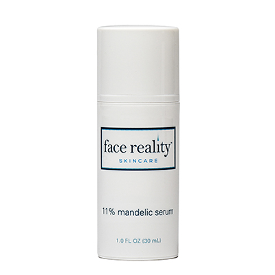 11% Mandelic Serum is safe for use on skin prone to all types of acne to clear and exfoliate.