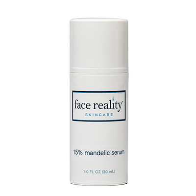 15% Mandelic Serum helps diminish the appearance of facial discoloration and offers a more even exfoliation.