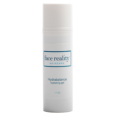 Hydrabalance is a water-based hydrating gel for the face that helps reduce the appearance of oily shine.