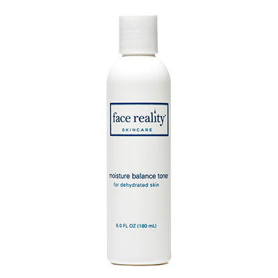 Moisture Balance Toner is a fragrance-free toner that offers intense moisturization.