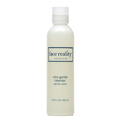 Ultra Gentle Cleanser is a sulfate-free gel cleanser beneficial to acne-prone skin.