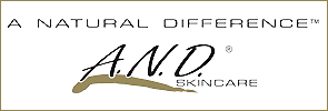 A Natural Skincare Difference logo for skincare products that treat acne.