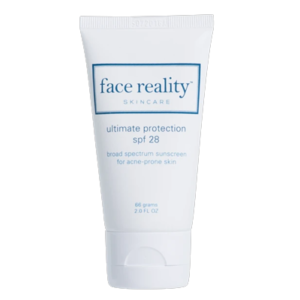 Ultimate sun protection with SPF 28 from Face Reality