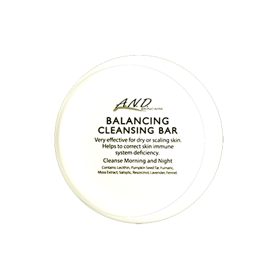 Balancing cleansing bar for refining skin texture