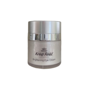 Kristi Redd Brightening Eye Cream brightens dark circles and hydrates