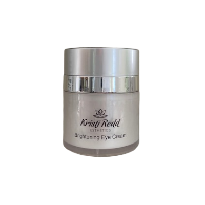 Kristi Redd Brightening Eye Cream brightens dark circles and hydrates
