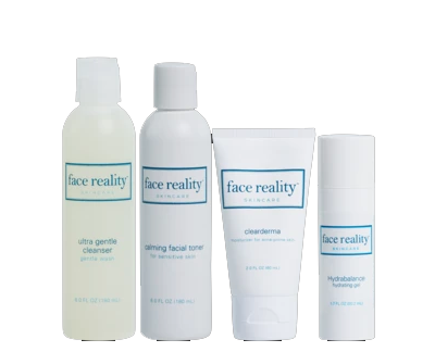 Start clearing your acne with this Face Reality acne kit