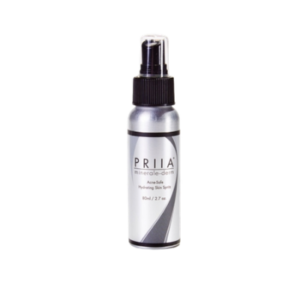 Hydrating Spritz is an acne safe product that enhances skin radiance.