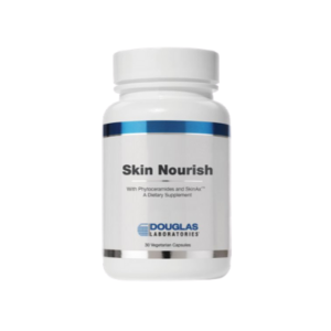Skin Nourish offers a special skin nutrient blend that supports the appearance of radiant skin color